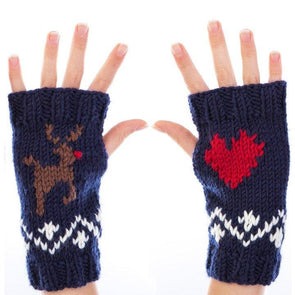 Nordic Mitts by Sue Stratford in Stylecraft Special Aran