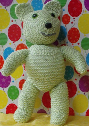 Terry Teddy by MadMonkeyKnits (003) - Digital Version