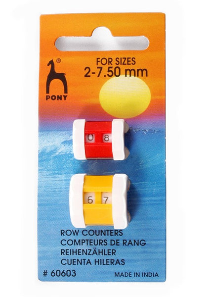 Pony Knitting Register Row Counter - Large & Small