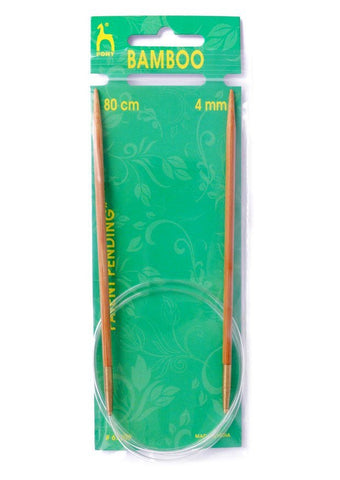 Pony Circular Knitting Needles (Bamboo) - 80cm
