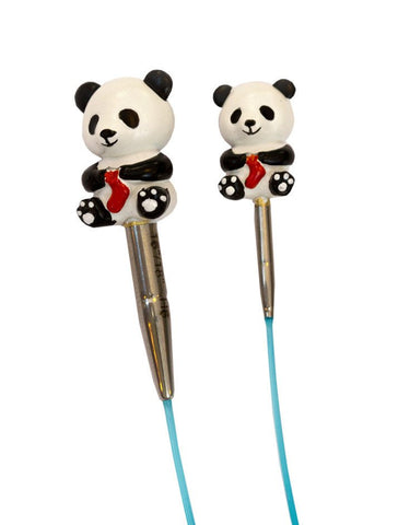 HiyaHiya Panda Li Cable Stoppers - Small