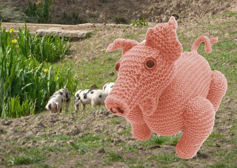 Percy Pig Knitting Pattern by MadMonkeyKnits (1) - Digital Version