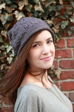 Plum Tree Slouch by Never Not Knitting