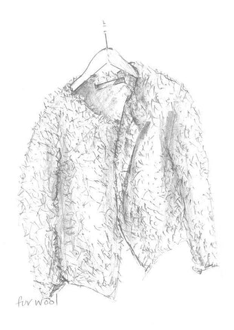 Fur Jacket - Erika Knight