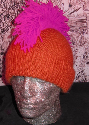 Punk Mohican Balaclava and Beanie by MadMonkeyKnits (123) - Digital Version