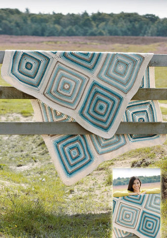 Crochet Blanket in Scheepjes Stone Washed XL