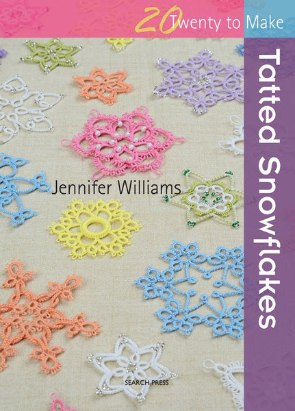 20 to Make Tatted Snowflakes