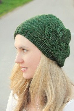 Seedling Beret by Never Not Knitting