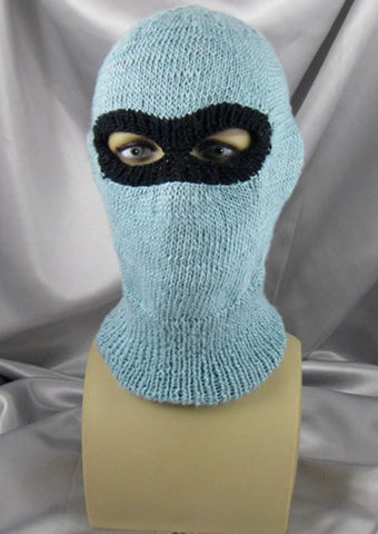 Ski Mask Balaclava by MadMonkeyKnits (478) - Digital Version
