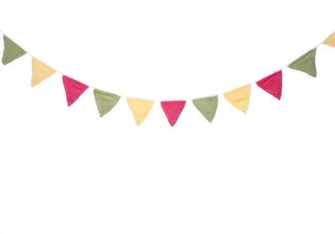Summer Bunting by Sue Stratford in Rico Design Essentials Cotton DK