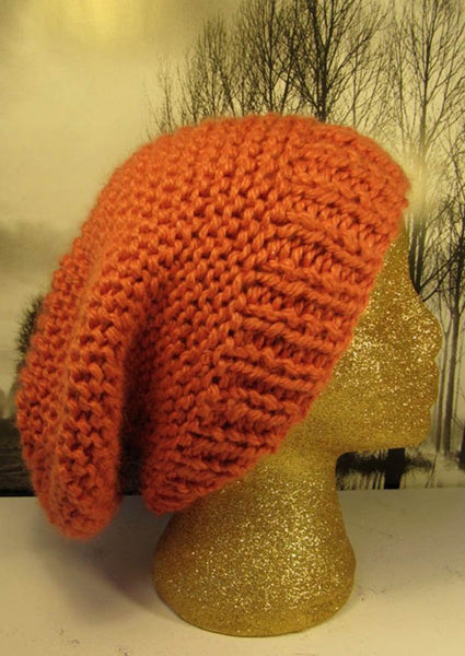 Superfast Garter Stitch Super Slouch Hat by MadMonkeyKnits (92) - Digital Version