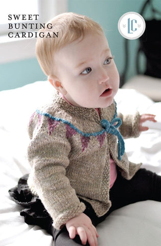 Sweet Bunting Cardigan by Laura Chau