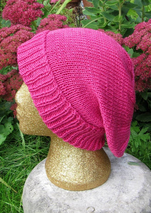 The Doubleknit Slouch Hat by MadMonkeyKnits (88) - Digital Version