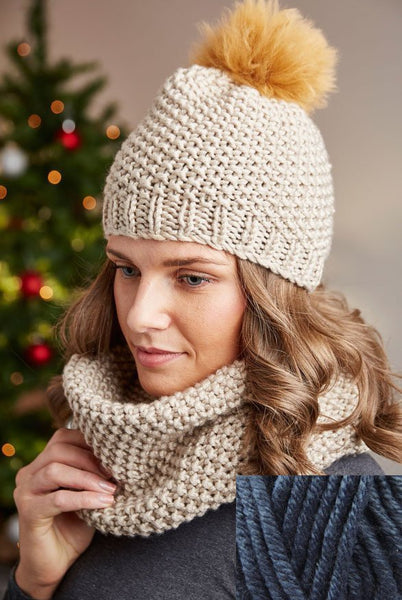 Deramores Studio Chunky Beanie and Snood Pack