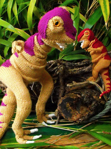 Tina Tyrannosaurus Rex and Baby Tyrone by MadMonkeyKnits (16) - Digital Version