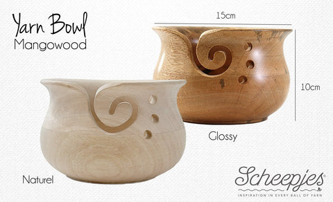 Yarn Bowl (Glossy) by Scheepjes