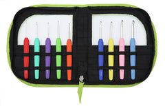 Knit Pro Waves Crochet Hook Set - Green
