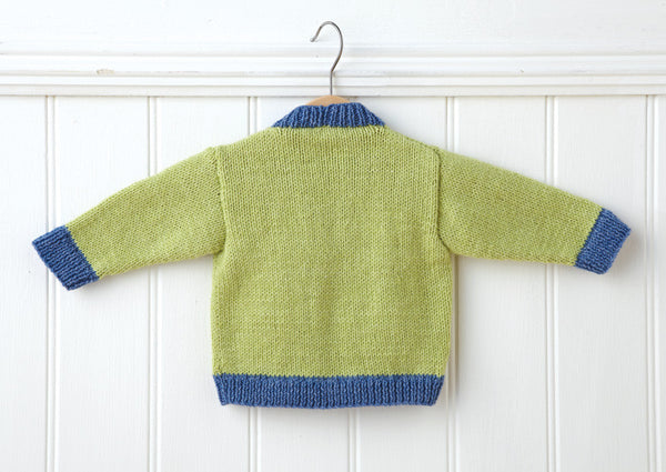 Cardigan in Deramores Baby DK (1005) Digital Version