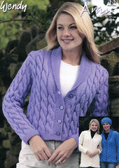 Cable Jackets and Hats in Wendy Aran with Wool (5202)