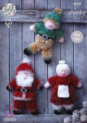 Tinsel Christmas Toys in King Cole Chunky (9029)