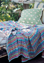 Picnic Blanket in Rowan Handknit Cotton Digital Version