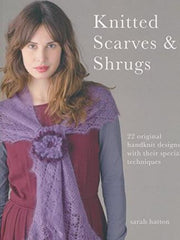knitted scarves and shrugs by sarah hatton