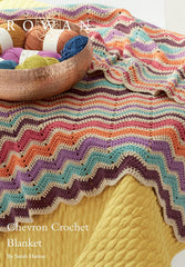 Chevron Crochet Blanket Digital Version