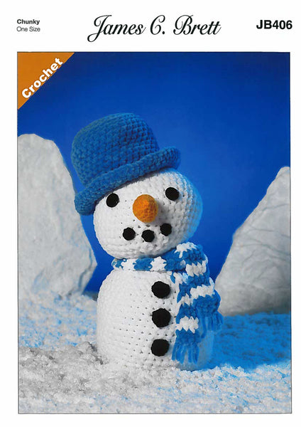 Frosty the Snowman in James C. Brett Flutterby (406)