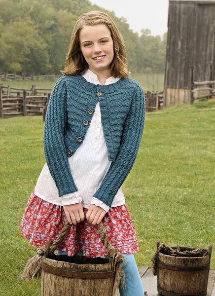 BeTween Cardigan in Spud & Chloe Sweater