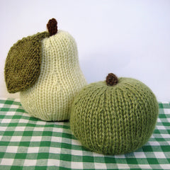 Apple and Pear in DK by Amanda Berry - Digital Version