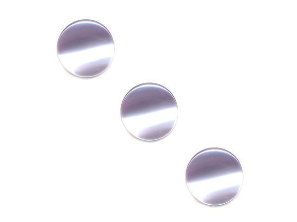 Round Pearl Effect Buttons - Purple - 125