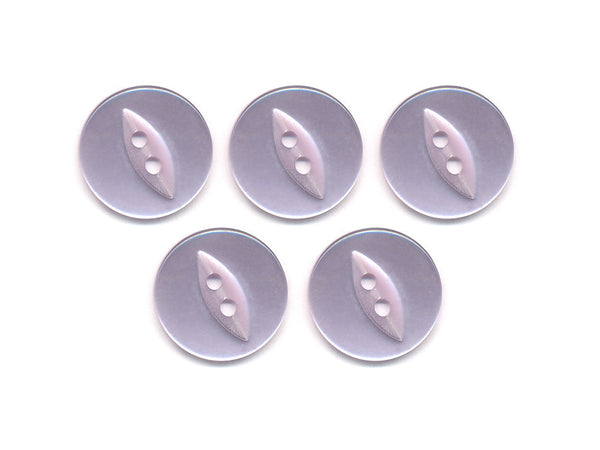 Fish-Eye Buttons - Purple - 051