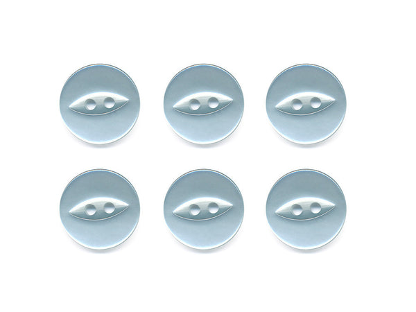 Fish-Eye Buttons - Blue - 066