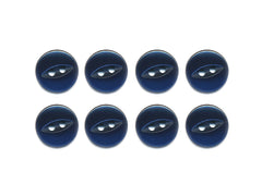 Fish-Eye Buttons - Navy - 171