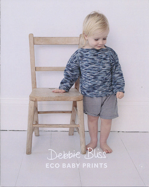 Easy Knits for Beginners in Debbie Bliss Eco Baby Prints (DB065)