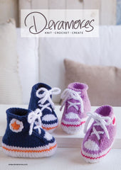 Deramores Baby DK High Top Booties