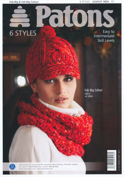 Sportive Winter Accessories in Fab Big and Fab Big Colour (3854)