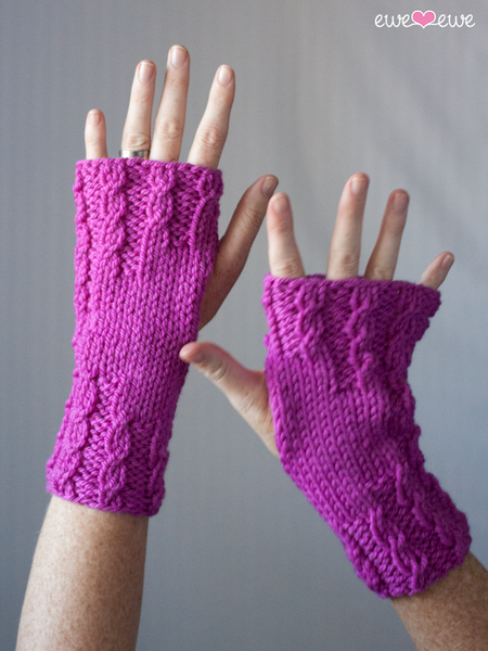 Wrist Warmers by Heather Walpole - Digital Version