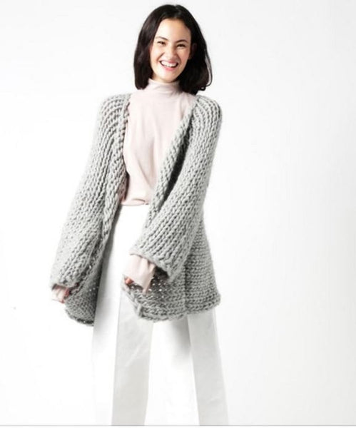 Fearless Cardigan by Wool and the Gang