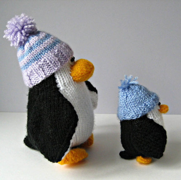 Bobble and Bubble Penguins in DK by Amanda Berry - Digital Version-Deramores