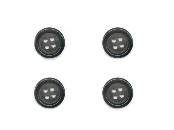 Round Rimmed Graduated Effect Buttons - Grey - 192