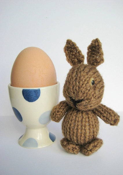 Egg Cup Bunny in DK by Amanda Berry - Digital Version-Deramores