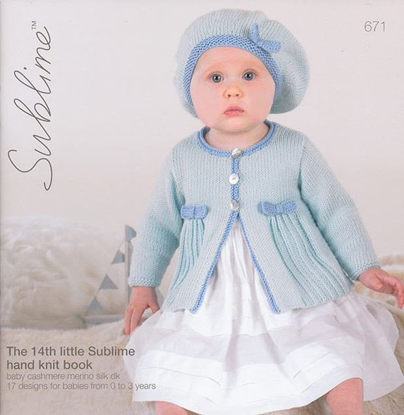 The Fourteenth Little Sublime hand Knit Book (671)