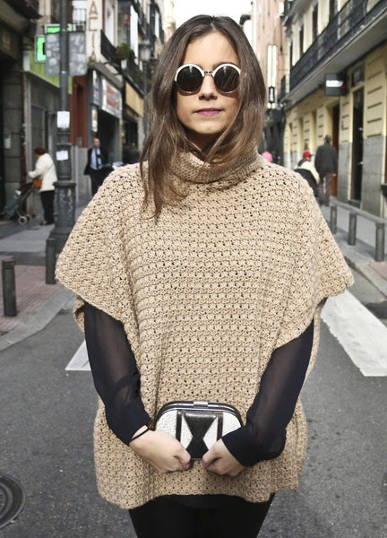 Iriri Poncho by We Are Knitters