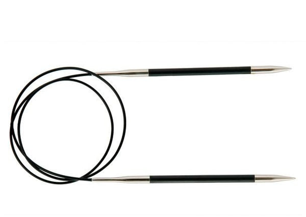 Karbonz Fixed Circular Needles (Carbon Fibre) - 40cm
