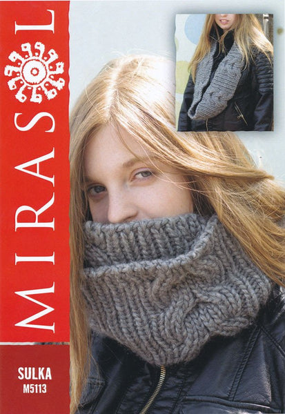 Cabled Cowl in Mirasol Sulka (M5113)