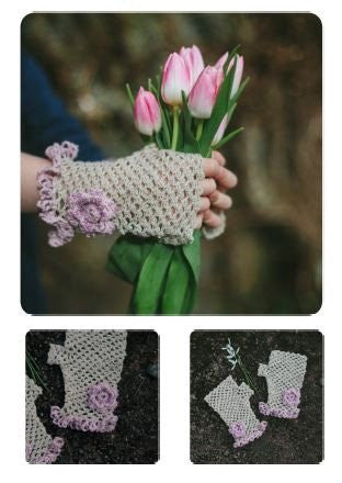 Vicia Mitts by Alice Leadbeter - Digital Version