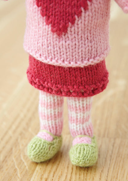 Polly Doll in Deramores Baby DK (1003) Digital Version