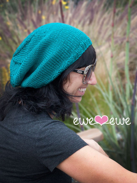 Surfer Slouch Hat in Ewe Wooly Worsted (220)