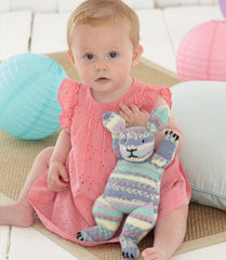 Bunnies in Sirdar Snuggly Baby Crofter DK, Snuggly DK and Snuggly Baby Crofter 4 Ply (4630) - Digital Version